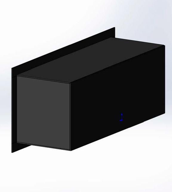 Стеклянный корпус для монтажа биокамина + рамка из стекла