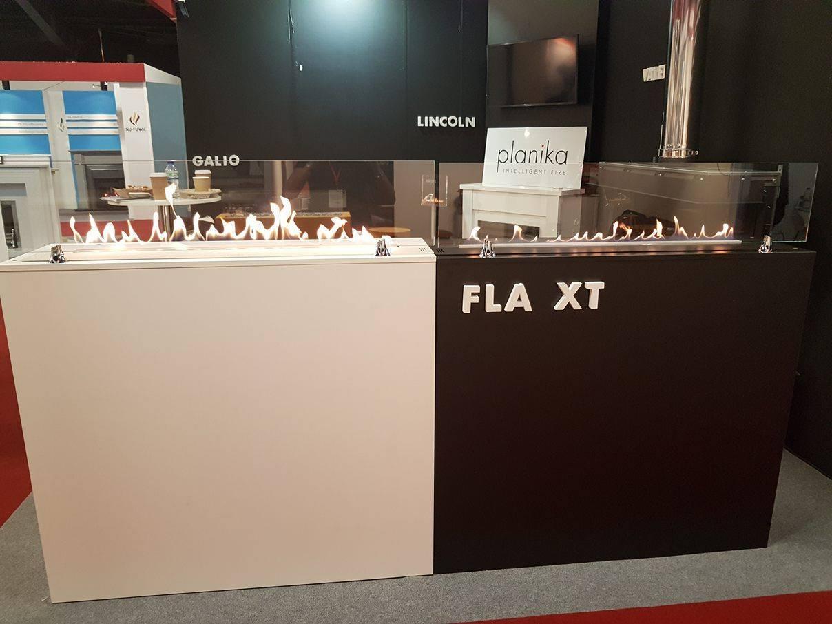 Автоматический биокамин с внешним топливным баком Planika FLA XT