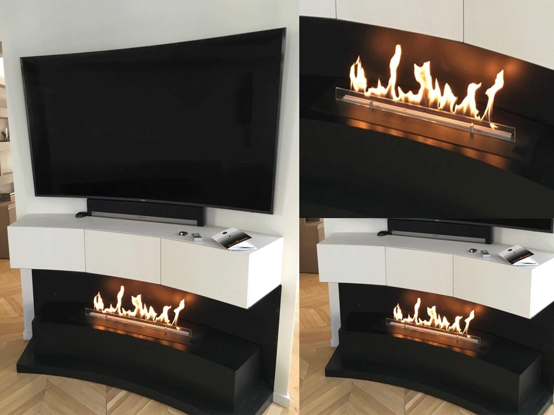 FLA 2 MODEL E с телевизором