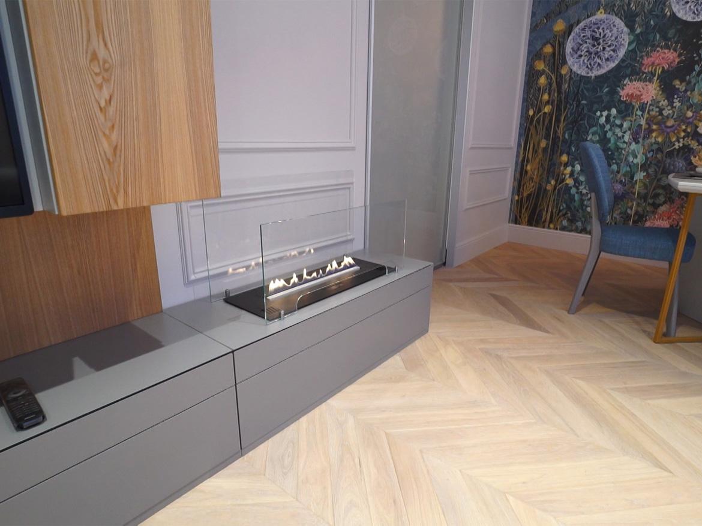 Planika Primefire встроенный в мебель