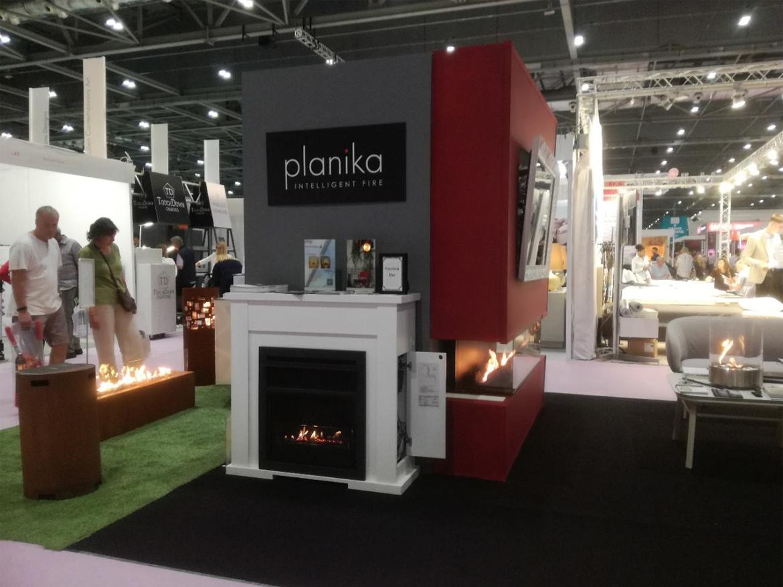 Биокамины Planika на выставке Grand Designs Live в Лондоне