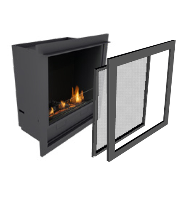 Planika-L-Fire-in-casing-with-frame+mesh