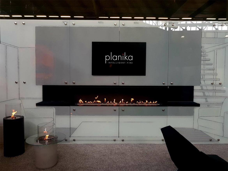 Стенд Planika на выставке Maison & Objet в Париже
