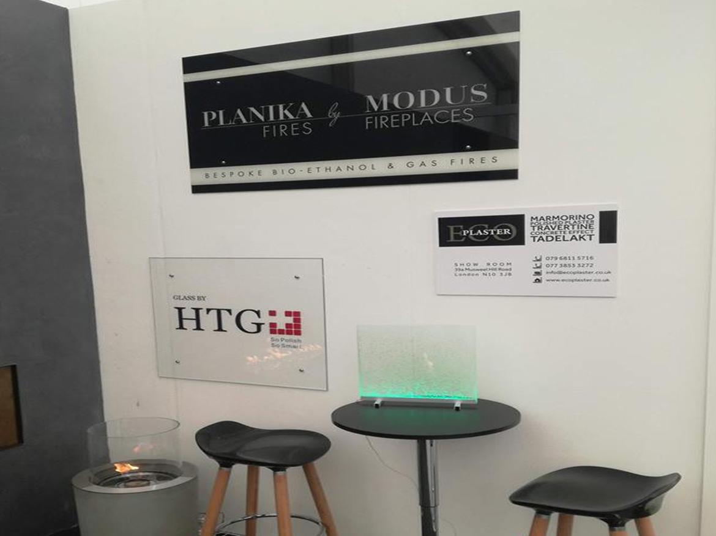 биокамины Planika на выставке Decorex (Лондон)