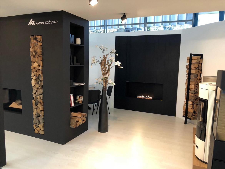 на выставку мебели Ambient Ljubljna - биокамины Planika покоряют Словению