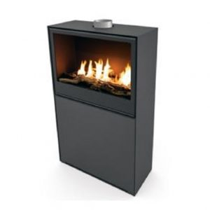 газовый камин Planika Versal Freestanding with gasbox 750