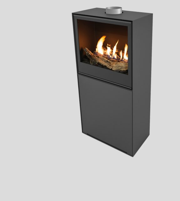 Versal Freestanding with gasbox 600