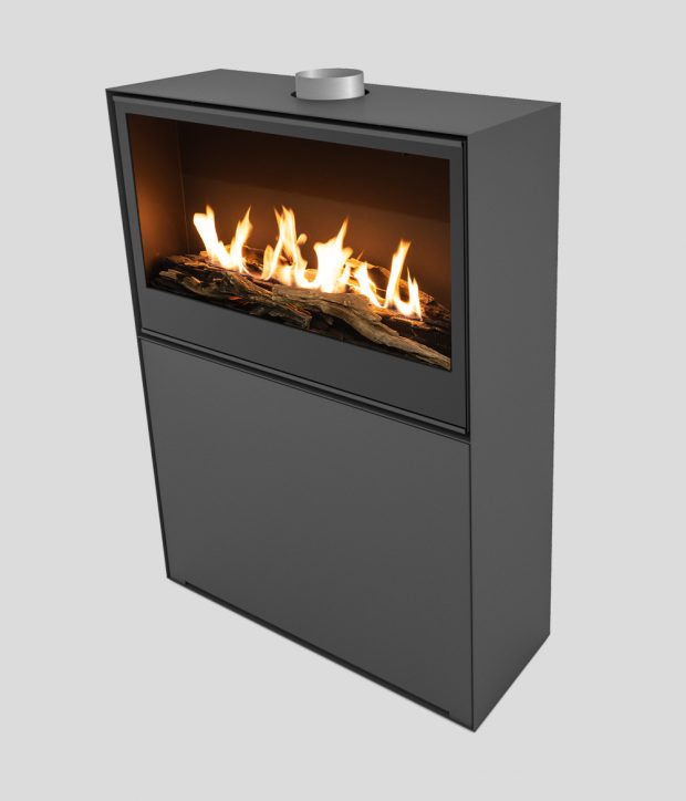 Versal Freestanding with gasbox 900