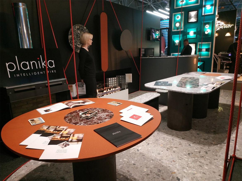 Камины Planika на выставке Das Interior 2018 в Молдове