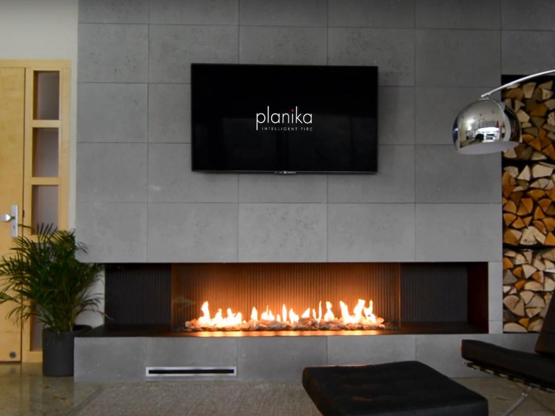 газовый камин Planika Sinatra