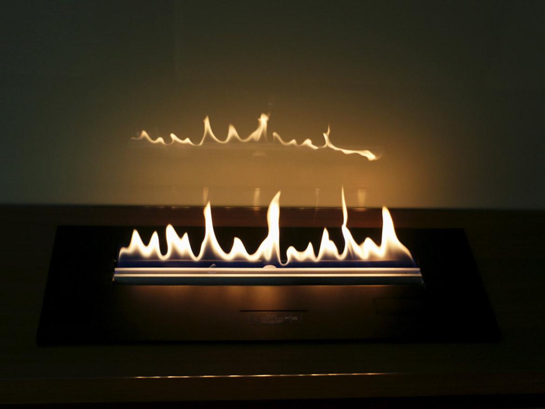 Встроенный в мебель биокамин Planika PrimeFire с пультом ДУ