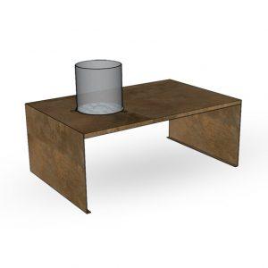 Биокамин Planika Corten Fire Table (outdoor)