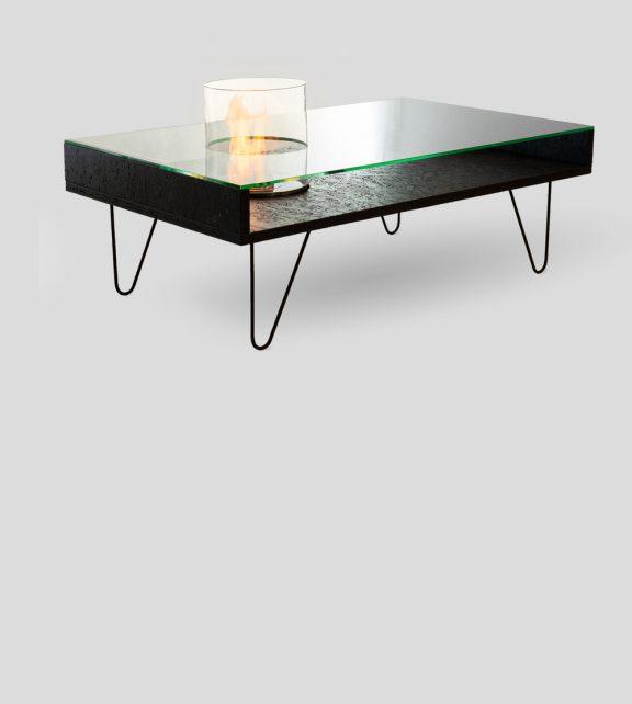 Биокамин Planika Fire Coffee Table Black OSB (outdoor)
