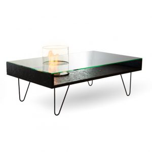 Биокамин Planika Fire Cofee Table Black OSB (outdoor)