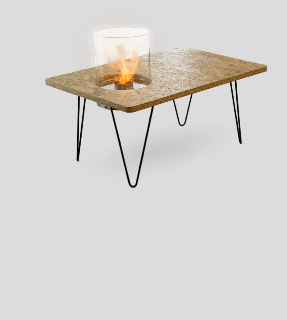 Fire Table Mini Natural OSB