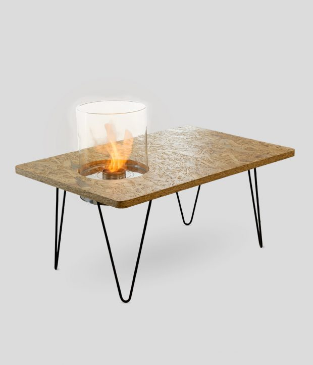 Fire Table Mini Natural OSB