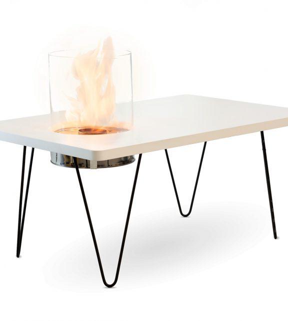Биокамин Planika Fire Table Mini White MDF (indoor)