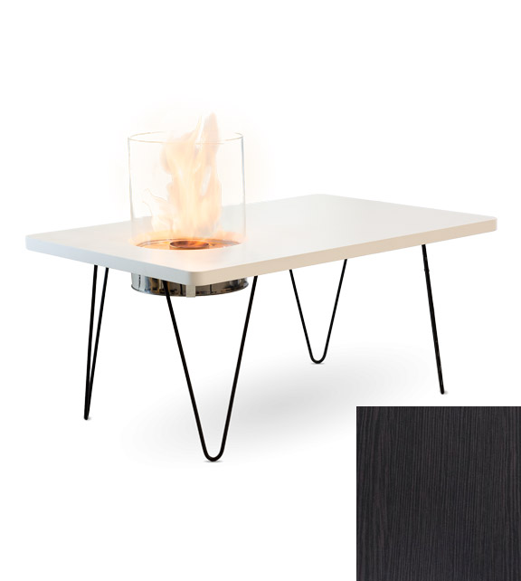 Биокамин Planika Fire Table Mini Black MDF (indoor)