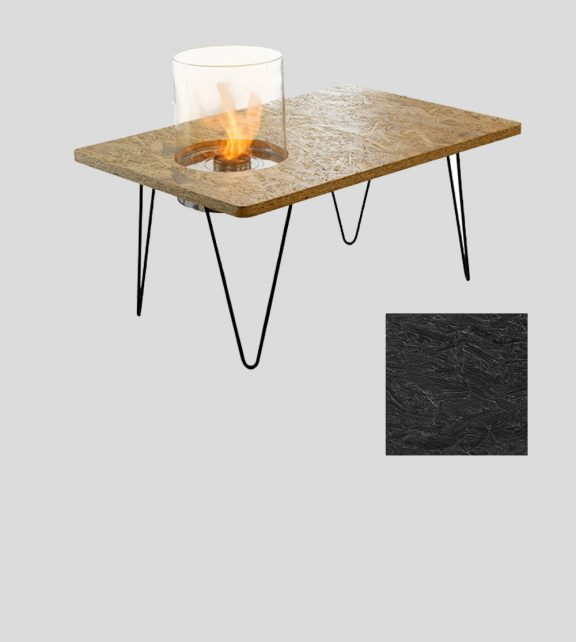 Table Mini Black OSB