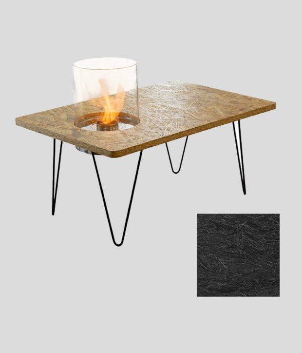 Table Mini Black OSB