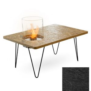 Биокамин Planika Fire Table Mini Black OSB (outdoor / indoor)