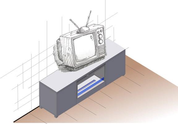 биокамин Planika TV BOX