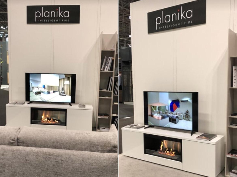Юбилейный ICFF и биокамины Planika в Нью-Йорке