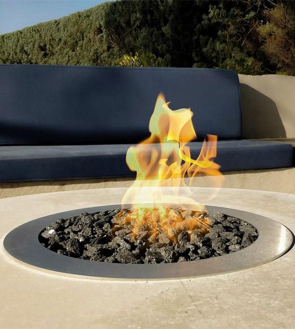 Galio Fire Pit Insert Automatic