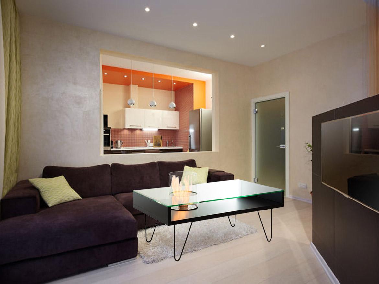 биокамин Planika Fire Coffee Table White MDF (indoor)