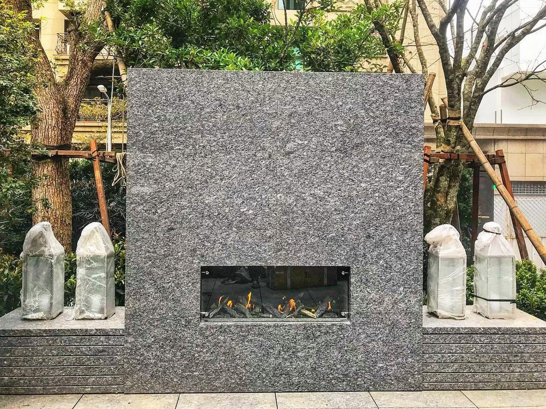 Газовый камин Planika Galio Insert для Вашей террасы