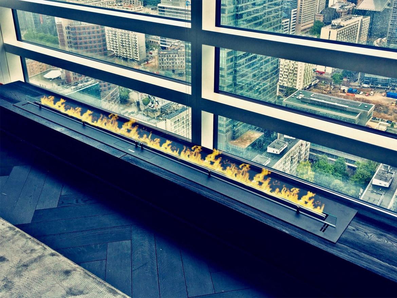 Planika Fire Line Automatic 3 под окном