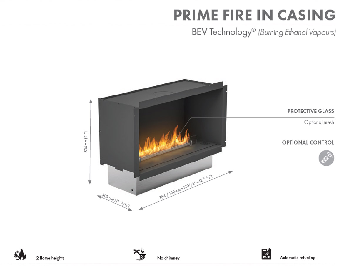 Planika Primefire in Casing 1000