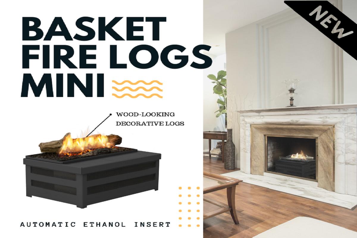 Биокамин Planika Basket Fire Logs Mini