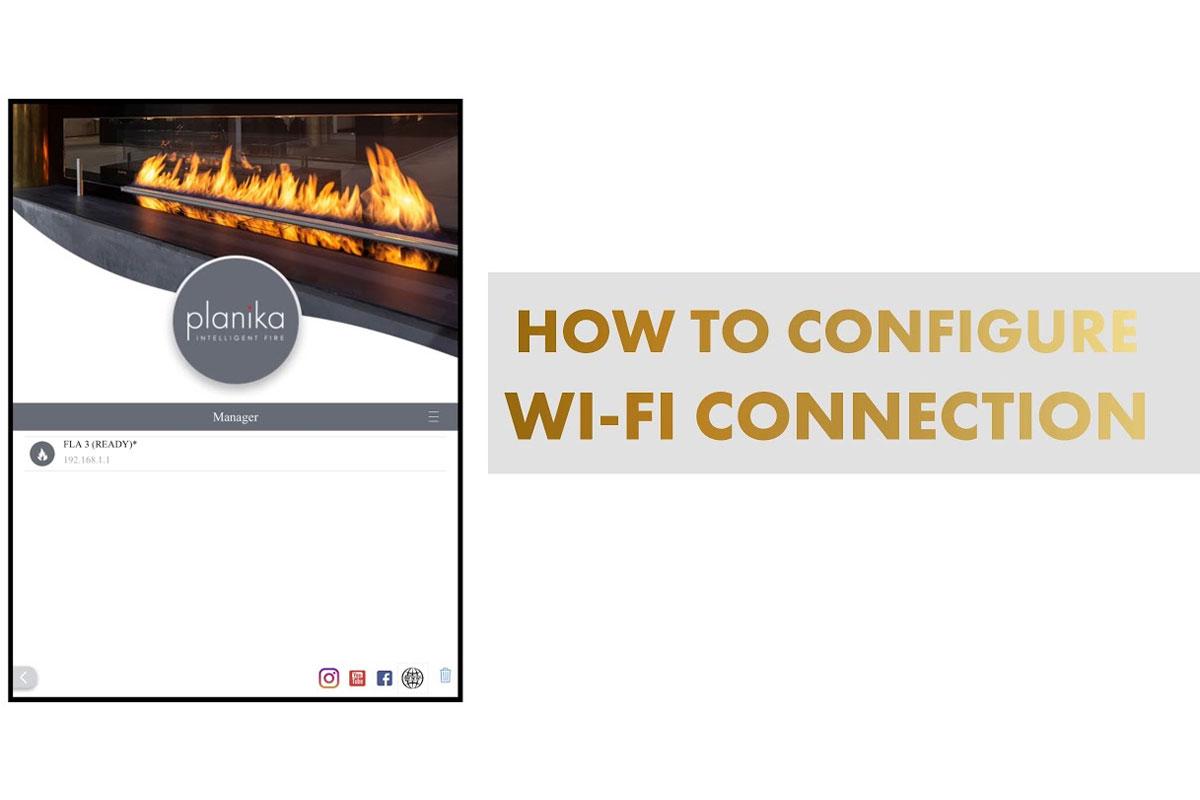 Wi-Fi модуль биокамина